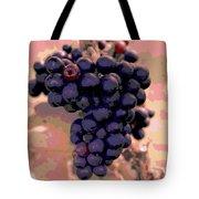 Purple Grape Bunches 18 Tote Bag