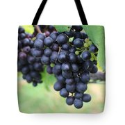 Purple Grape Bunches 20 Tote Bag