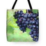 Purple Grape Bunches 21 Tote Bag