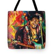 Purple Haze Tote Bag by Eric Dee