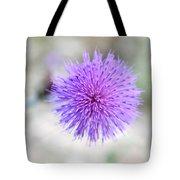 Purple Peace Tote Bag