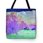 Purple Tree Reverie Tote Bag