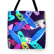Purple Waters Tote Bag