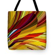 Put Your Finger To The Fire Tote Bag by David Manlove