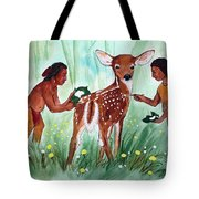 Putting On The Spots Tote Bag