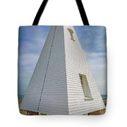 Pyramid Bell Tower Maine Tote Bag