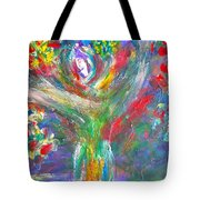 Queen Of The Lotus Flower Tote Bag