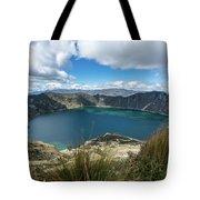 Quilotoa Crater Lake Tote Bag