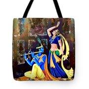 Radhakrishna Tote Bag