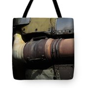 Radial Engine Exhaust Tote Bag