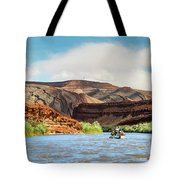 Rafting On The San Juan River Tote Bag