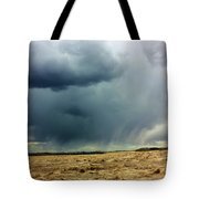 Rain Down On Parched Fields  Tote Bag