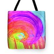 Rainbow Shell Tote Bag