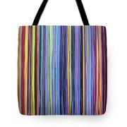 Rainbow Stripes Purple Gold 201912 Tote Bag