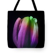 Rainbow Tulip Photopainting Tote Bag