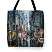 Rainy Expression Tote Bag