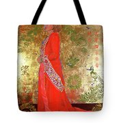 Raise The Red Lantern Tote Bag