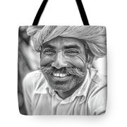 Rajput High School Teacher Bw Tote Bag