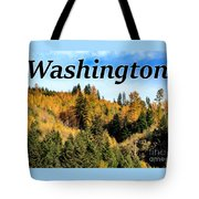 Randle Washington In Fall 02 Tote Bag