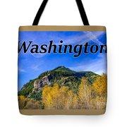 Randle Washington In Fall Tote Bag