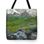 Range In The Claree Valley II Tote Bag