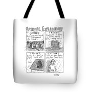 Rational Explanations Tote Bag