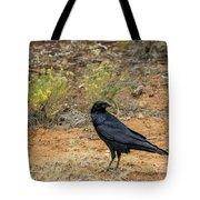 Raven, Grand Canyon Tote Bag by Dawn Richards