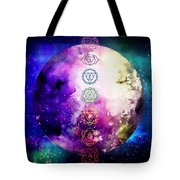 Reach Out To The Stars Tote Bag by Bee-Bee Deigner