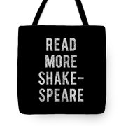 Read More Shakespeare Vintage Tote Bag
