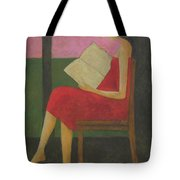 Reading On The Porch Tote Bag