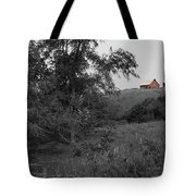 Red Barn Hill Tote Bag by Dylan Punke
