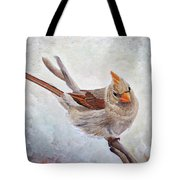 Red Bill Beauty Tote Bag