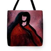 Red Blanket Tote Bag
