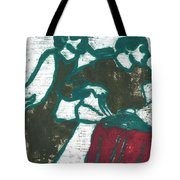 Red Detachment Of Women Painting Tote Bag