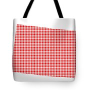 Red Dot Map Of Colorado Tote Bag