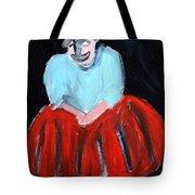 Red Dress Tote Bag