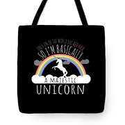 Red Hair Majestic Unicorn Funny Redhead Tote Bag