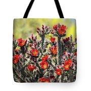 Red Hot Cholla  Tote Bag