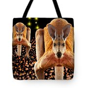 Red Kangaroos Tote Bag