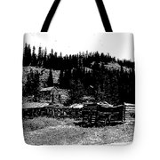 Red Lion Ghost Town Montana Tote Bag
