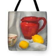 Red Pitcher Tote Bag
