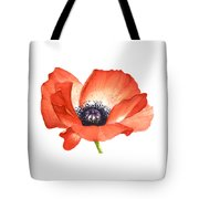 Red Poppy Flower, Image For Prints On Tshirt Tote Bag