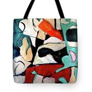 Red Remains Tote Bag