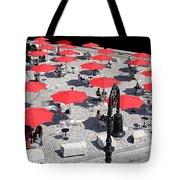 Red Umbrellas 2 Tote Bag