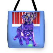 Red, White And Blue Waiting For You Tote Bag