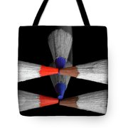Reflecting Colour Pencils Tote Bag by Garvin Hunter