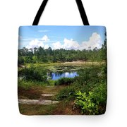 Reflection On The Lake Tote Bag