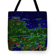 Reflections Of A Green Land 2 Tote Bag