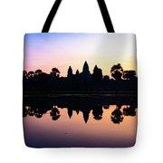 Reflections Of Angkor Wat - Siem Reap, Cambodia Tote Bag