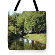 Reflections Of Bridgewater Canal - 1 Tote Bag